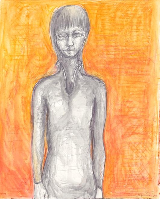 橙色の背景の人物 .jpg